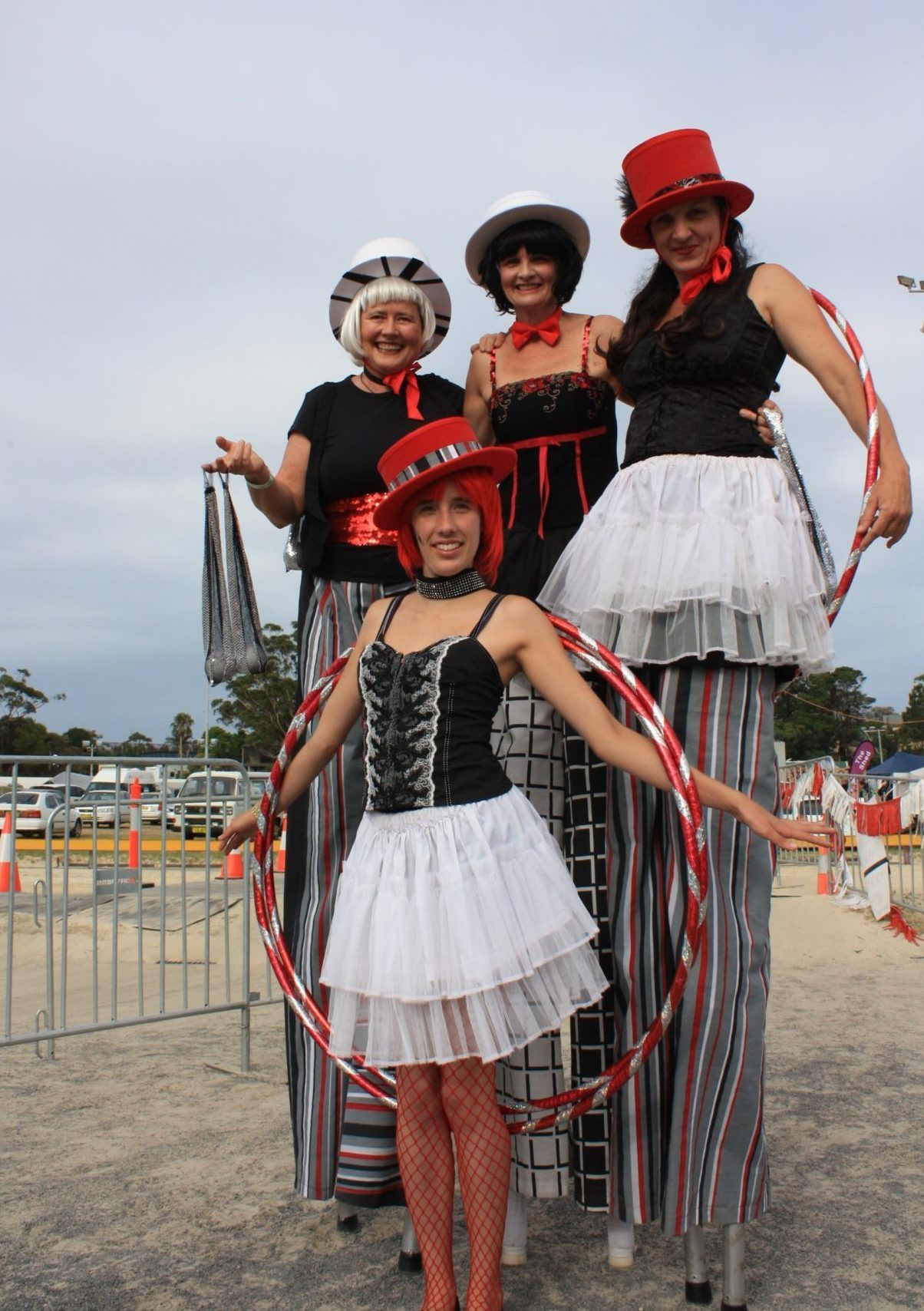 The Red, White and Black Circus